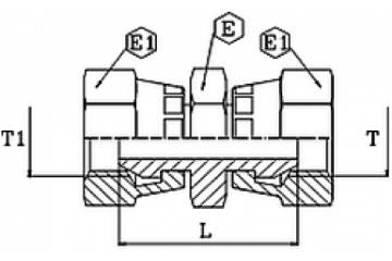 Adaptor metric DKOL-DKOL