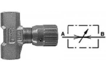Drosel reglare cu buton