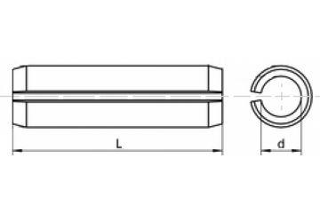 Stift elastic  DIN 1481