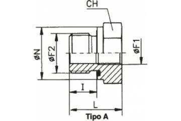 TN141-A Adaptor drept FE-FI