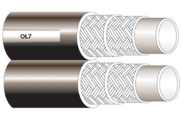 Furtun termoplast cu insertie textilă R7 TWIN