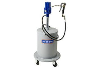 Sistem gresare pneumatic mobil 20 kg