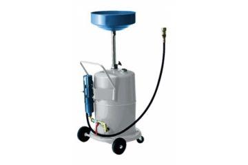 Recuperator ulei uzat mobil, cu pompă pneumatică de evacuare