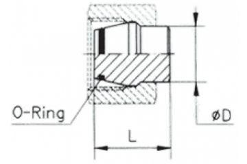 TN324 Dop cu O-ring