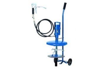Sistem gresare pneumatic mobil 10 kg