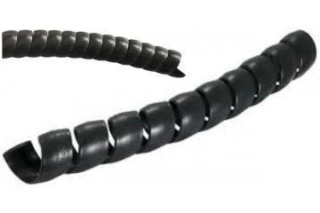 Spirală PVC neagră pentru furtunuri la metru